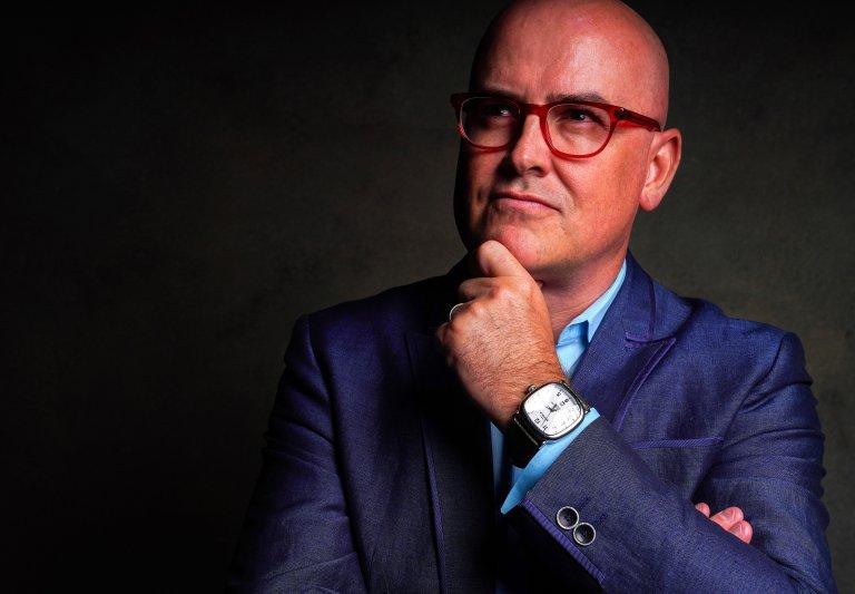 Steve Brown, the Bald Futurist