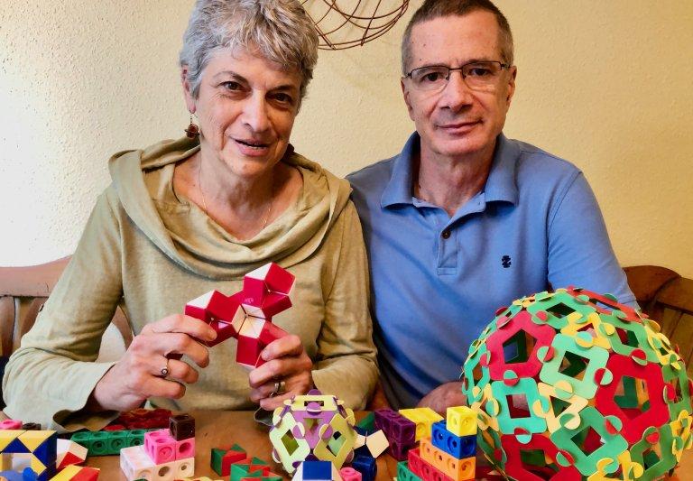 Saturday Academy Math Instructors Cristina and Mircea Draghicescu
