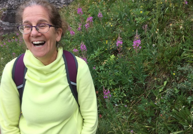Instructor Ellen Regal smiling
