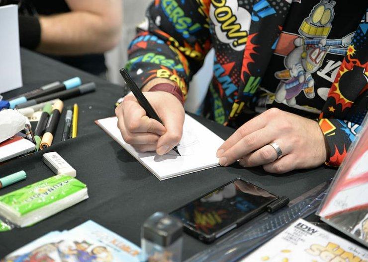 Creating Short Comics Saturday Academy Online Class