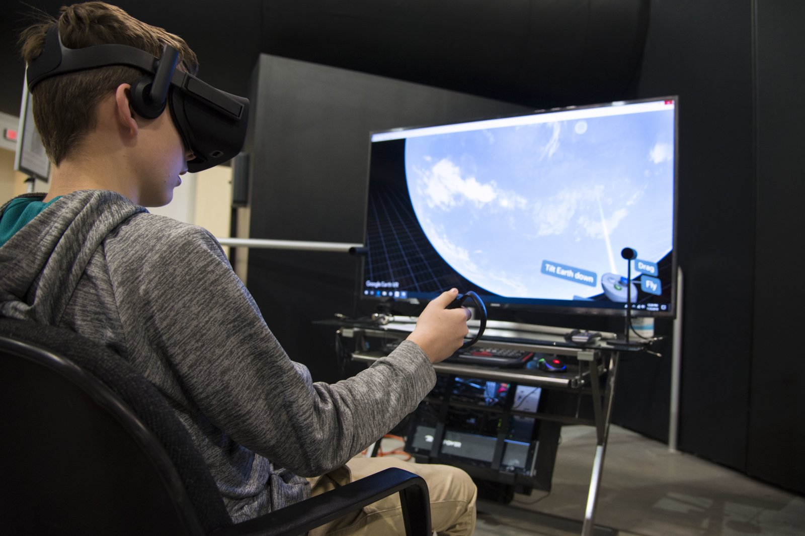 Dreaming in VR Immersive Technology Photo by National Museum of the US Air Force