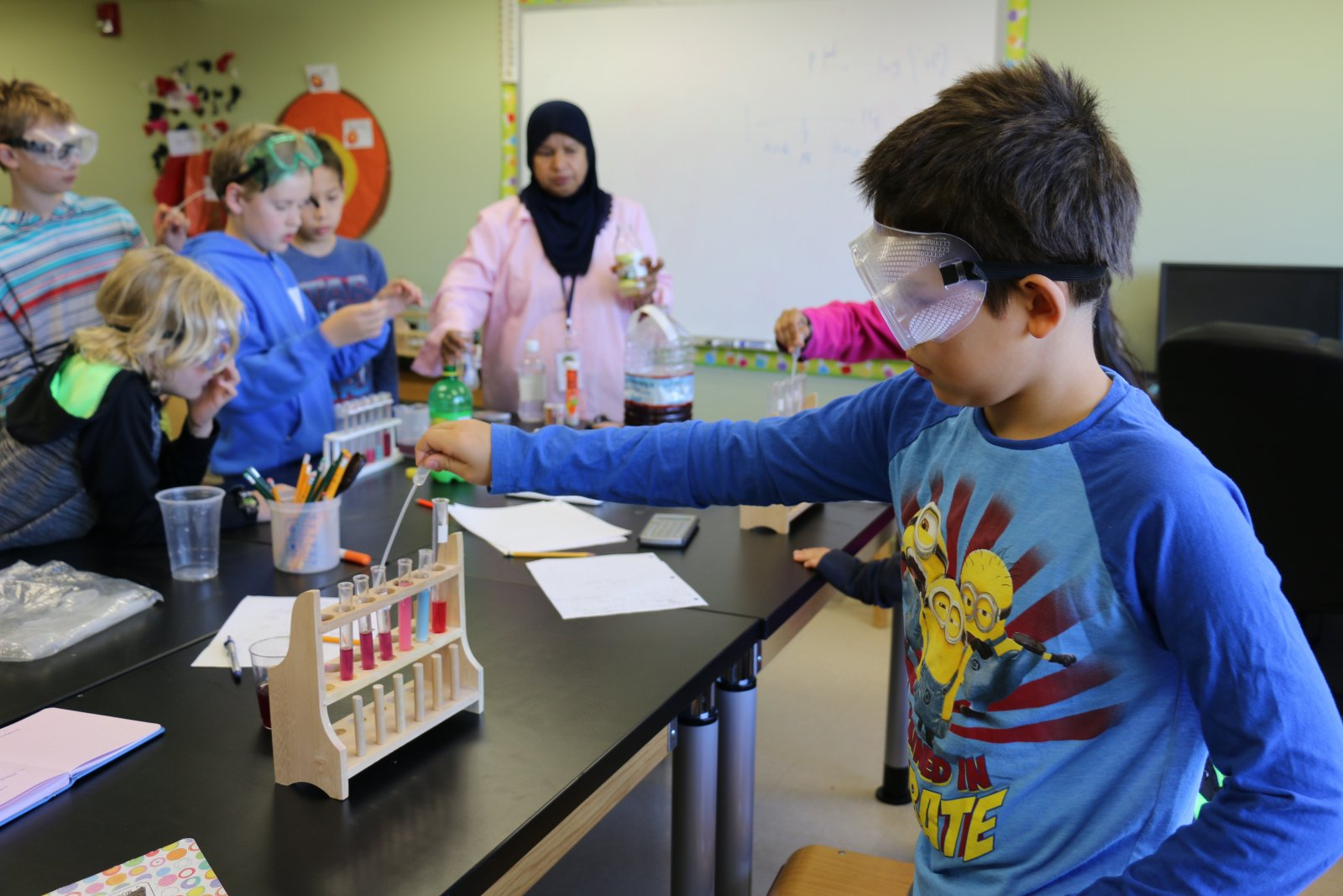 Chemistry Experiments | Saturday Academy